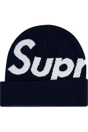 Supreme Gorro con logo grande