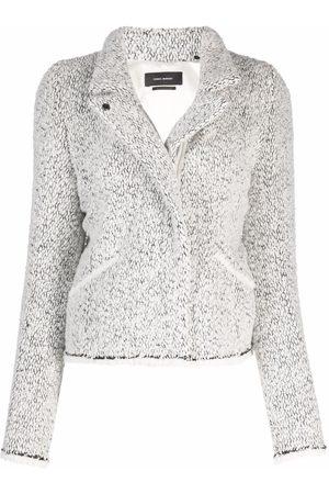Isabel Marant Textured-finish cropped jacket