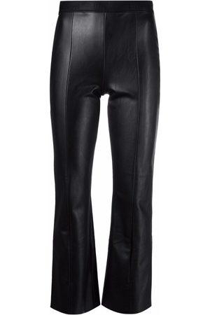 Wolford Pantalones Jenna de piel artificial