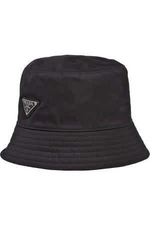 Prada Sombrero de pescador con logo