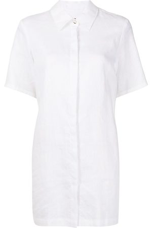 Staud Button-up short-sleeved shirt