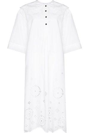Ganni Short sleeve midi dress