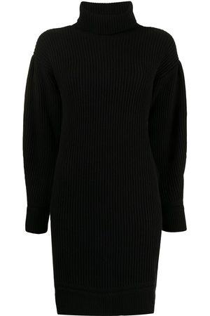 Armani Vestido de punto con cuello vuelto