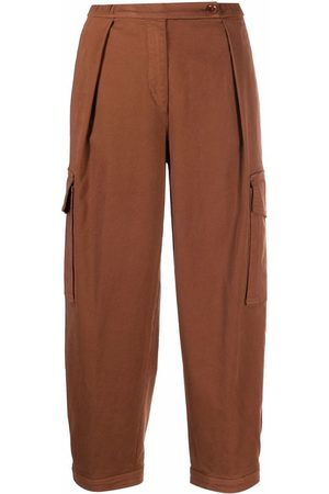 Aspesi Straight-leg cotton cargo pants