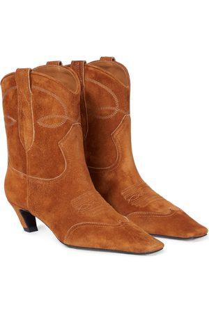 Khaite Botas cowboy Dallas de ante