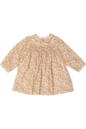BONPOINT Bebé - vestido Trinité de algodón floral