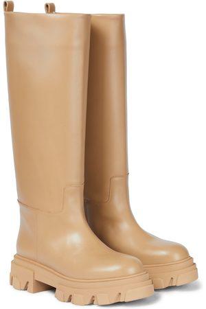 Gia Borghini GIA X PERNILLE TEISBAEK botas altas Tubular de piel