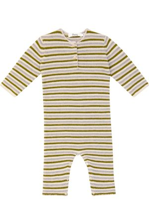 BONPOINT Bebé - body Ticiano de lana merino a rayas
