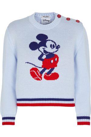 Miu Miu X Disney® jersey de lana en intarsia