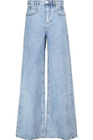 Isabel Marant Jeans flared Lemony de tiro alto