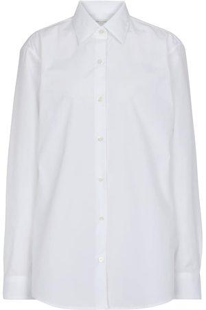 DRIES VAN NOTEN Camisa de popelín de algodón