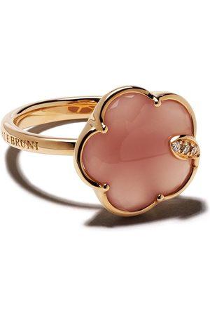 Pasquale Bruni Mujer Anillos - Anillo Petit Joli en oro rosa de 18kt con calcedonia y diamante