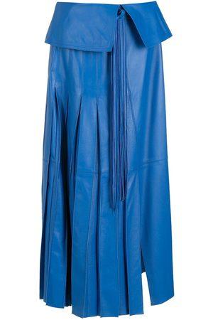 NK Mujer Plisadas - Falda con pliegue en la cintura