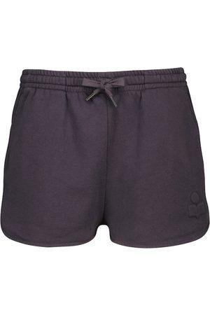 Isabel Marant, Étoile Mujer Pantalones cortos - Shorts Mifikia en mezcla de algodón