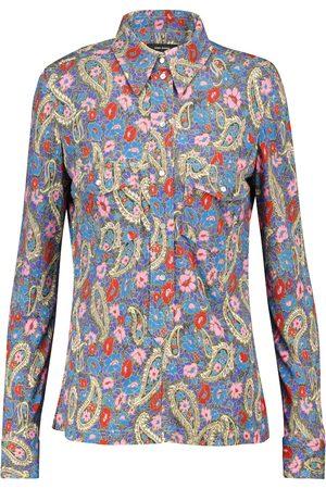Isabel Marant Camisa Lettyae de punto fino floral