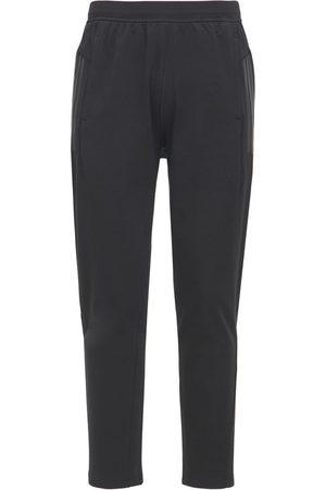 adidas Hombre Pantalones y Leggings -   Hombre Pantalones Deportivos Para Yoga De Algodón Xs