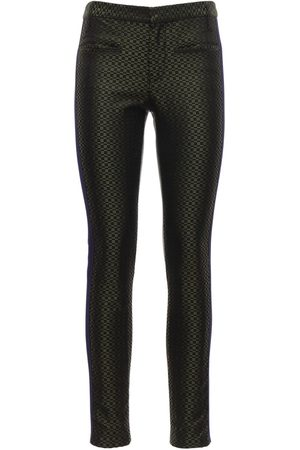 Haider Ackermann | Mujer Pantalones Skinny Fit De Seda Jacquard /negro 34
