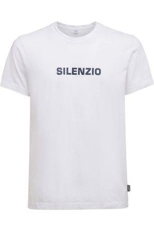 Aspesi   Hombre Camiseta De Algodón Con Estampado S
