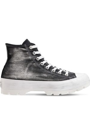 Converse Mujer Zapatillas deportivas - | Mujer Sneakers Altas Chuck Taylor All Star Lugged /plata 5
