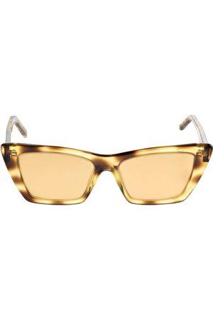 Saint Laurent | Mujer Gafas De Sol Sun Ace Nw Sl276 Mica De Acetato /brown Unique