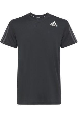 adidas   Hombre Camiseta Heat.rdy Con 3 Bandas Xs