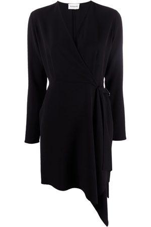 P.A.R.O.S.H. Mujer Asimétricos - Vestido cruzado asimétrico