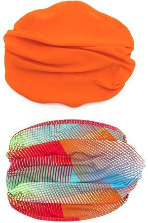 AMIR SLAMA Pack de 2 cinta para el pelo tipo bandana