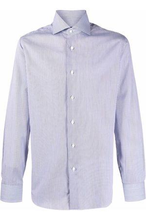 BARBA Camisa a rayas de manga larga