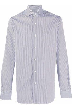 BARBA Striped long sleeved shirt
