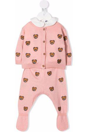 Moschino Pijama con estampado Teddy Bear