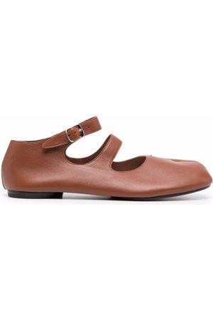 Maison Margiela Mujer Bailarinas - Tabi ankle-strap ballerina shoes
