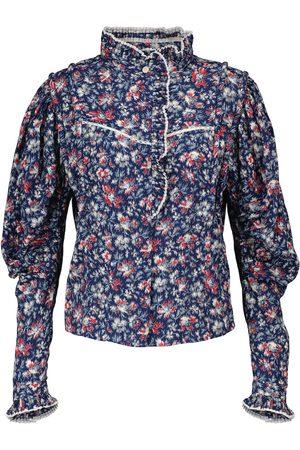 Isabel Marant, Étoile Blusa Darya de algodón floral