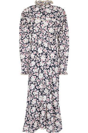 Isabel Marant, Étoile Mujer Casual - Vestido midi Darcy de algodón floral