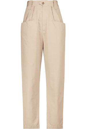 Isabel Marant, Étoile Pantalones tapered Pulcina de algodón