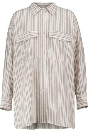 Isabel Marant, Étoile Camisa Ajady de algodón a rayas