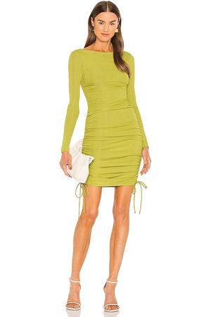 Camila Coelho Minivestido tiara en color verde talla L en - Green. Talla L (también en XXS, XS, S, M, XL).