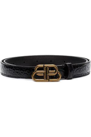 Balenciaga Mujer Cinturones - Cinturón con hebilla BB