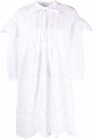 VALENTINO Mujer Vestidos - Vestido corto con bordado inglés