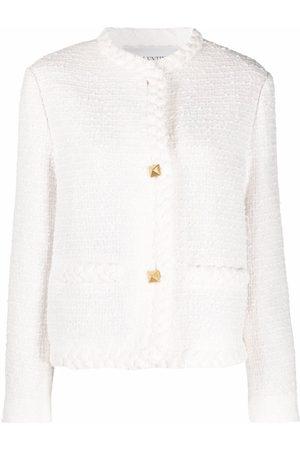 Valentino Mujer De entretiempo - Chaqueta corta de tweed