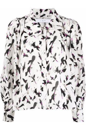 IRO Camisa con estampado abstracto