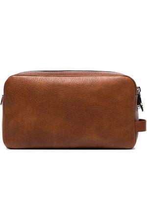 Brunello Cucinelli Leather wash bag
