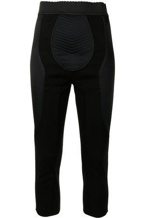 Dolce & Gabbana Panelled cropped leggings