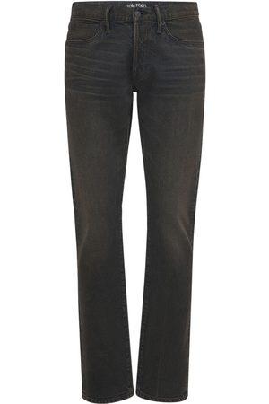 Tom Ford Hombre Slim - | Hombre Jeans Slim Fit De Denim Japonés 33