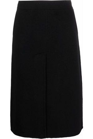 P.a.r.o.s.h. A-line wool skirt