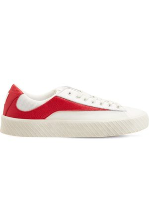 By Far Mujer Zapatillas deportivas -   Mujer Sneakers Rodina De Piel Y Malla 30mm /rojo 41