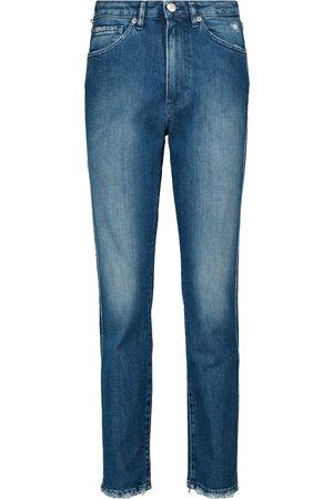 3x1 Jeans slim Claudia de tiro alto