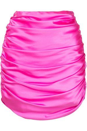 Michelle Mason Mujer Minifaldas - Minifalda fruncida