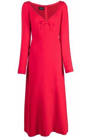 Giambattista Valli Bow-detail silk dress