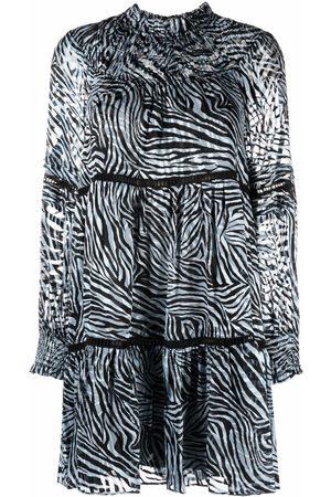 Michael Kors Vestido con estampado de cebra