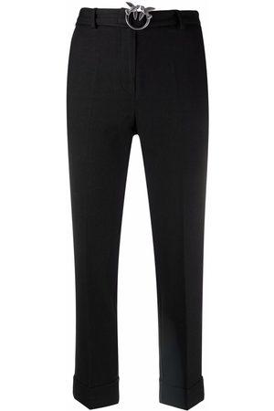Pinko Pantalones tapered con logo